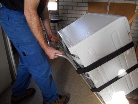 Asscheman de verhuizers hoe til je een wasmachine - Hoe je een scheiding in een ruimte te maken ...